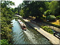 TQ2783 : Narrowboat in Regent's Canal by Malc McDonald