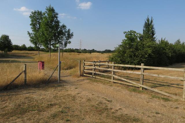 Footpath to Biddenham