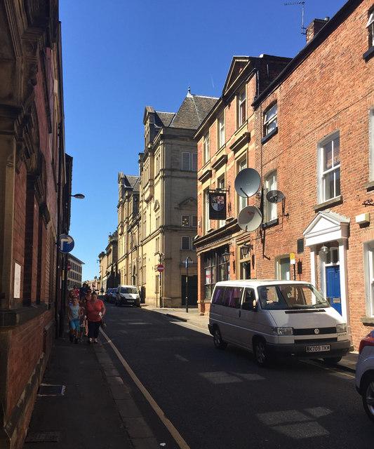 Northwest on King Street, Wakefield