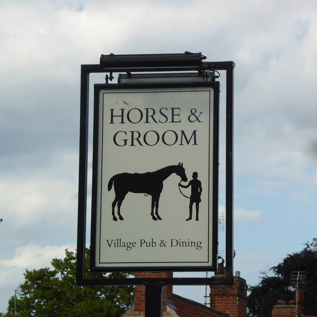 The sign of the Horse and Groom