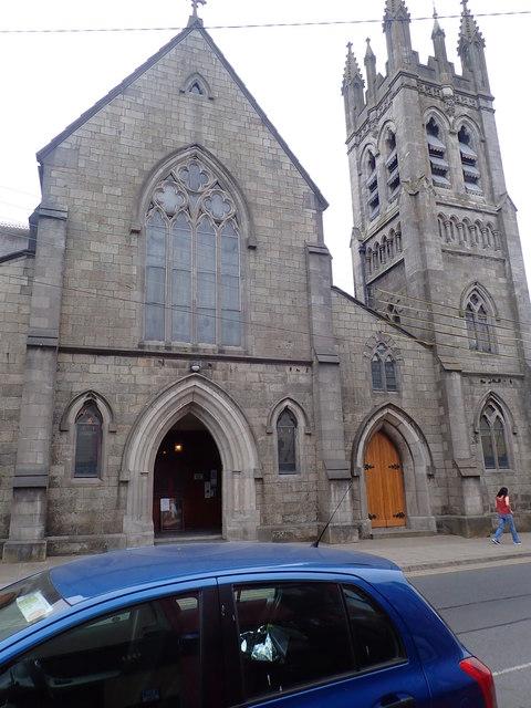 West door of St Nicholas Catholic Church, Dundalk