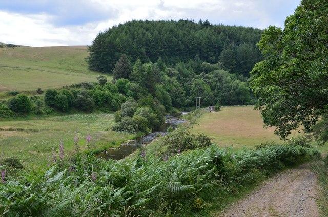 Whiteadder Water near Barnside