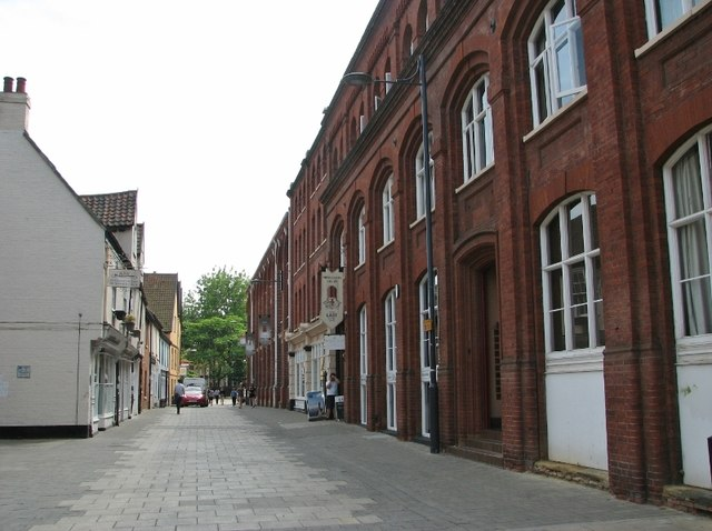 View along St Georges Street