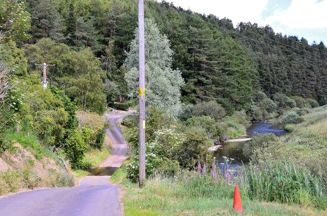 Road at Greenhope