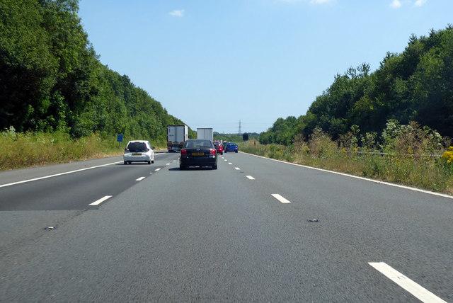 Coast-bound M20