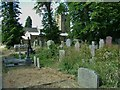 SK2176 : Eyam. St. Lawrence's Church cemetery by Peter Evans