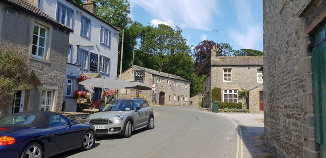Kings Head public house in Kettlewell