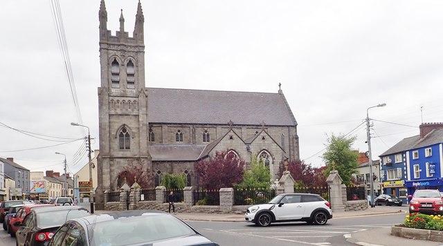 View North towards St Nicholas' Catholic Church, Dundalk