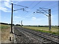 SK7277 : The East Coast Main Line at Eaton Crossing by Graham Hogg