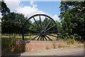SE4702 : Barnburgh Colliery Wheel on Hollowgate, Harlington by Ian S