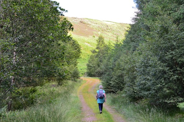 Track to Robber's Cleuch