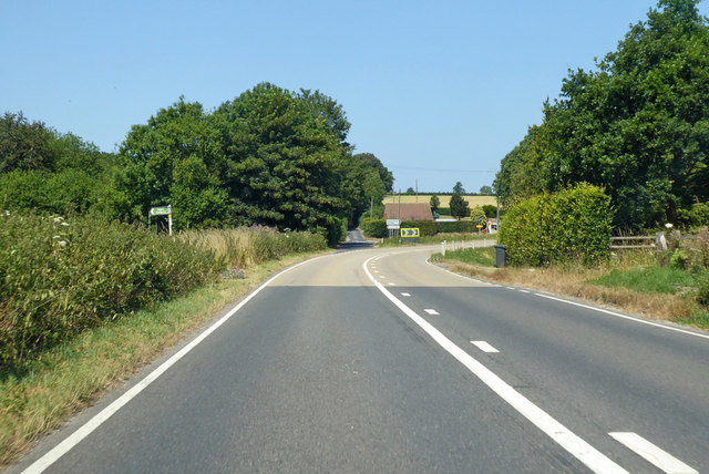 B2068 Stone Street towards Canterbury