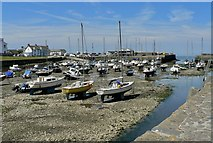 SN4562 : Low tide in the harbour by john bristow