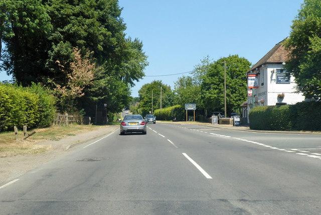 B2068 towards Canterbury