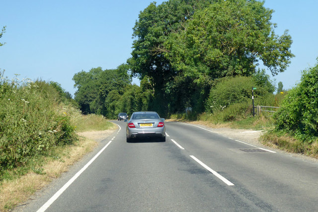 B2068 towards Canterbury