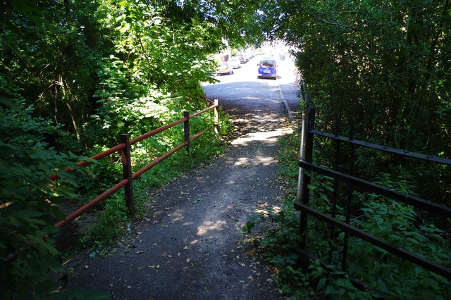 Footbridge to Spring Street, Lye, Stourbridge