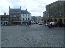 NU1813 : Market Place, Alnwick; by Colin Pyle