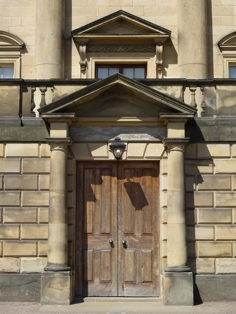 Doors to Nostell Priory
