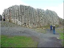 C9444 : Basalt columns. Giant's Causeway by Humphrey Bolton