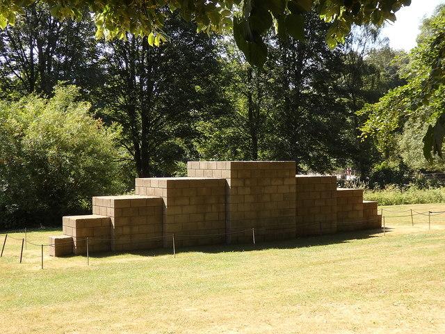 """Yorkshire Sculpture Park: """"123454321"""""""