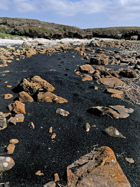 Beach, Loch Casgro, Isle of Lewis
