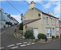SN3860 : Corner of Marine Terrace and Prospect Place, New Quay by Jaggery