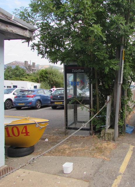 High Street phonebox, New Quay