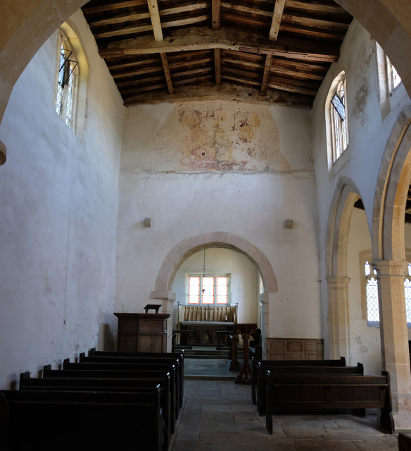 Church of St. Barbara:  Nave and Chancel Arch