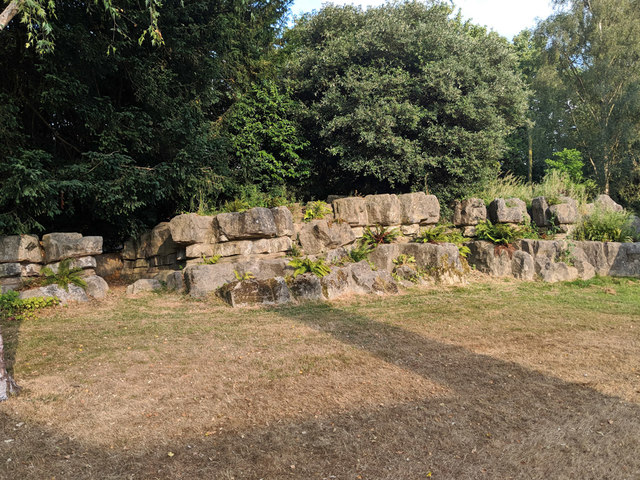 Pulmanite rockery, Worth Park