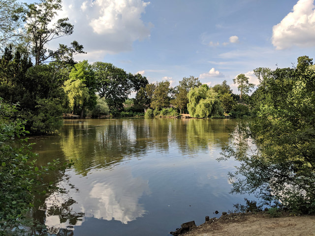 Lake, Worth Park