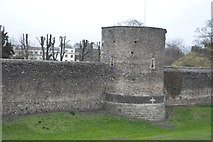 TR1457 : Canterbury City Walls by N Chadwick