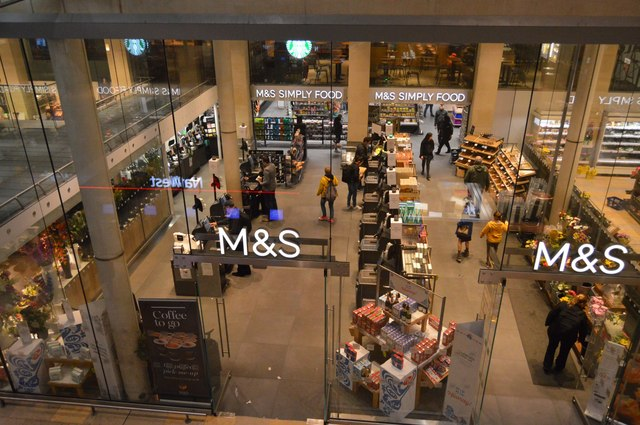 M&S, Paddington Station