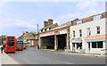 TQ2670 : Merton High Street at Merton Bus Garage by Des Blenkinsopp