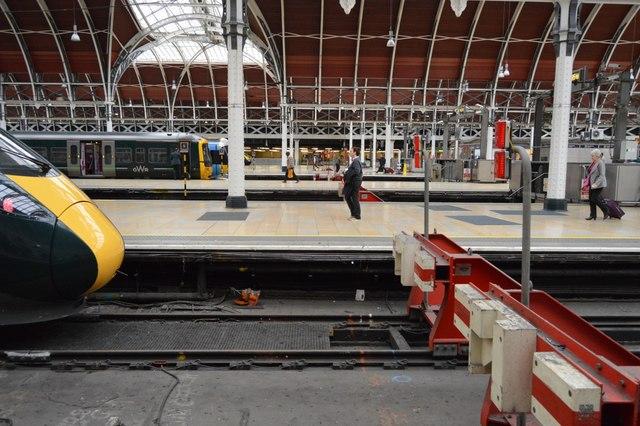 Buffers, paddington Station