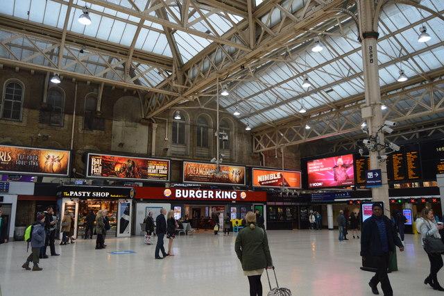 Burger King, Charing Cross Station