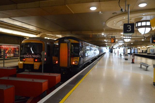 Platform 3, Charing Cross Station