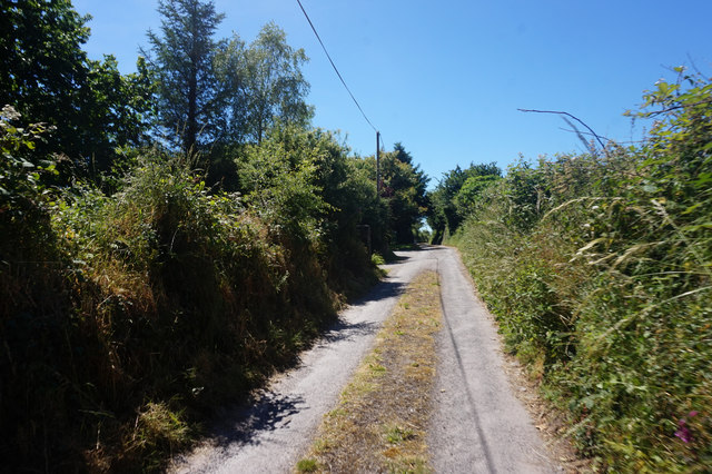 Road leading to Ballymore