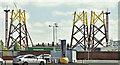 J3575 : Wind turbine parts, Harland & Wolff, Belfast (July 2018) by Albert Bridge