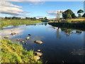 NJ8913 : River Don at Dyce : Week 28