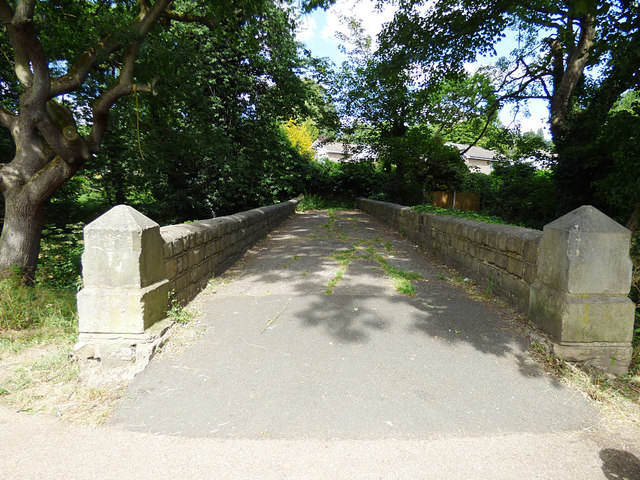 Bridge on the approach to Asket Hall (top)