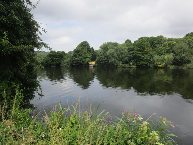 The River Trent near Colwick Hall