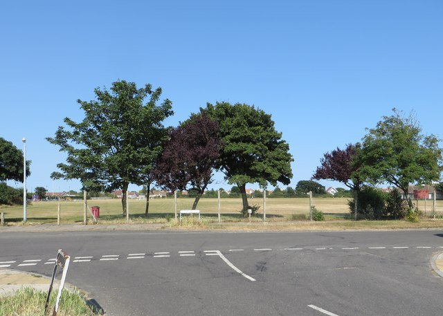 Eastcliff Sports Ground - view from entrance