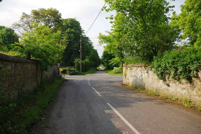 Junction of Weald Street & Clanfield Road, Bampton, Oxon
