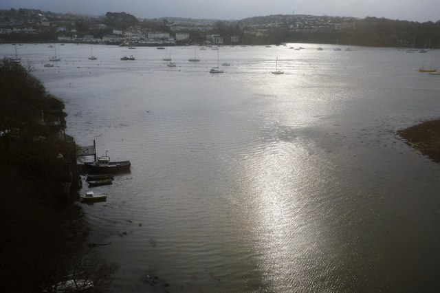 Inlet to the Tamar Estuary