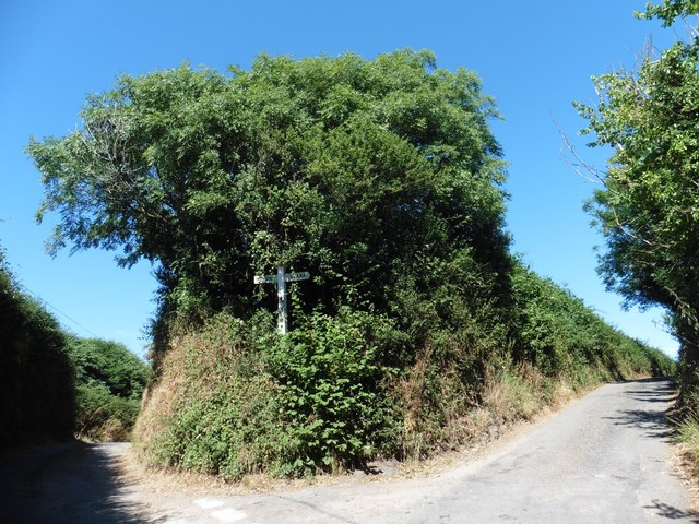 Turning for Buttercombe Lane