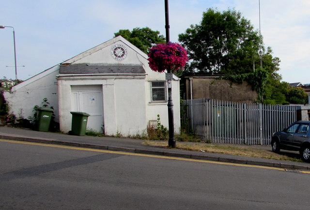 Blackwood South electricity substation, Gordon Road, Blackwood