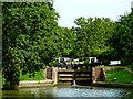 SP5565 : Braunston Locks No 4 in Northamptonshire by Roger  Kidd