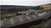 SO1004 : Farm buildings in Pentwyn by Jaggery