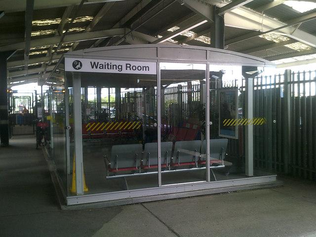 Waiting Room at Ipswich Railway Station