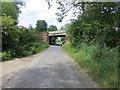 SE7724 : Moorfields Lane being crossed by Railway Bridge TJG 2 by Peter Wood